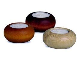 Bjoern Koehler - Tea light for Nativity Scene - Natural Wood Tone