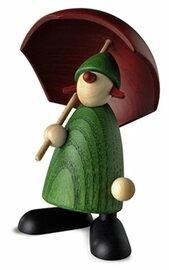 Bjoern Koehler Kunsthandwerk - Gratulantin Louise with Umbrella
