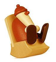 Bjoern Koehler Kunsthandwerk - Santa - Sitting in Easy Chair
