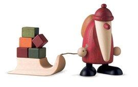 Bjoern Koehler Kunsthandwerk - Santa with Sleigh bearing gifts