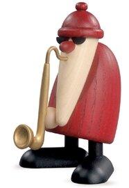 Bjoern Koehler Kunsthandwerk - Santa with Santa with Saxophone