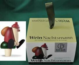 Bjoern Koehler Kunsthandwerk - Santa 'White Wine Bottle Cork'
