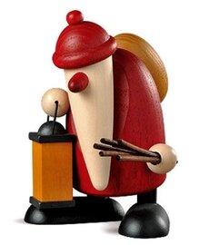 Bjoern Koehler - Weihnachtsmann with Lantern and wicker rod