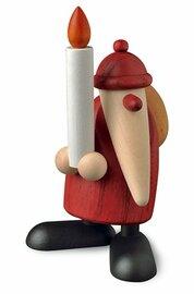 Bjoern Koehler Kunsthandwerk - Santa with Christmas Candle