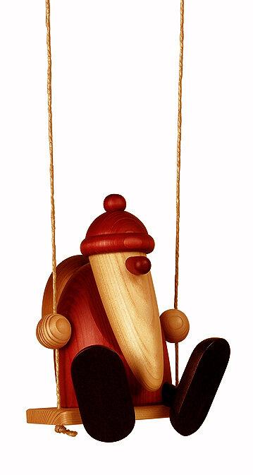 Bjoern Koehler Kunsthandwerk - Santa - on Swing