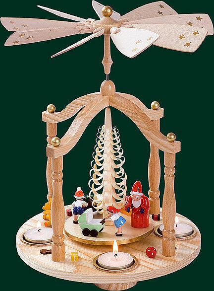 Glaesser - Tea light Pyramid - Christmas Gift Ceremony