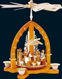 Glaesser - Pyramid  Birth of Jesus Christ