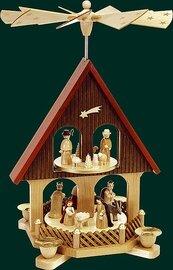 Richard Glaesser - Pyramid  2-tiers Birth of Jesus Christ