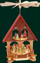 Glaesser - Pyramid  2-tiers Fairy Tale House