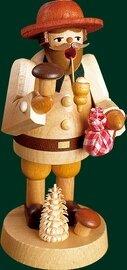 Glaesser Incense Smoker - Mushroom gatherer