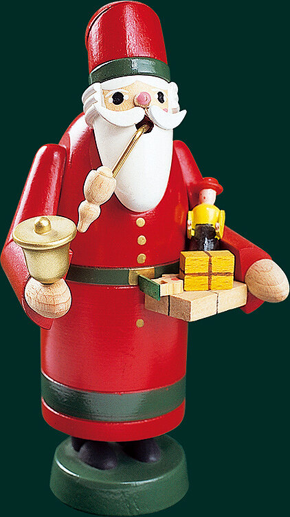 Glaesser Incense Smokers - Santa with green belt