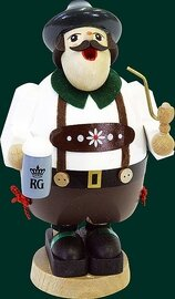 Glaesser Incense Smoker - Typical Bavarian with Beer mug