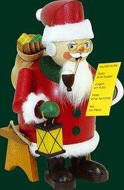 Glaesser Incense Smoker - Santa with Wishlist sitting