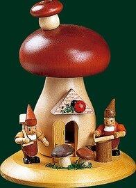 Glaesser Incense Smoker - Mushroom with dwarfs