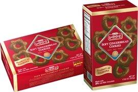 Henry Lambertz - Milk Chocolate Covered Lebkuchen Shapes