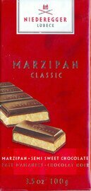 Niederegger Marzipan/Semi-sweet Chocolate Bar -