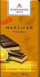 Niederegger Orange Flavored Marzipan Bar - 110g / 3.9 oz