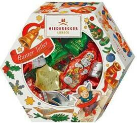 Niederegger Christmas Selection Basket -  232 g/8.25 oz
