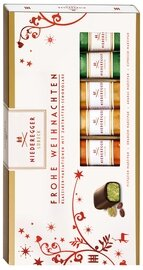 Niederegger Classic Marzipan Variations in a Christmas Sleeve - 200 g/7.0 oz