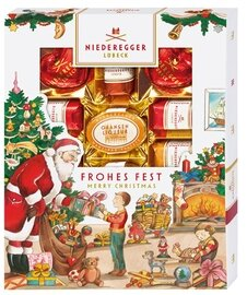 Niederegger Marzipanerie in a Christmas Sleeve - 182g/6.5 Oz