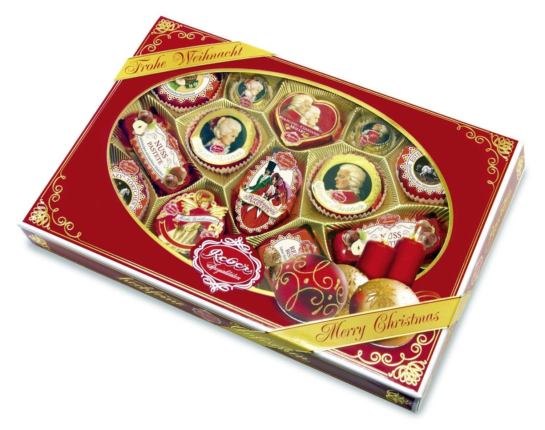Reber Marzipan Specialty Gift Box in Christmas Decor, 525/18.67 Oz