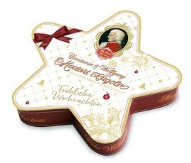 Reber Weihnachtsstern Mozart-Kugel Mischung, 240g/8.53 Oz