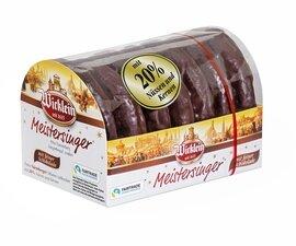 Wicklein Meistersinger Lebkuchen - Sugar Glazed,  200g/7.0 Oz