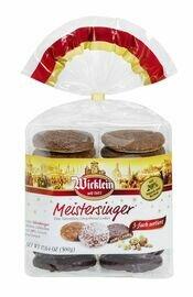 Wicklein Meistersinger Lebkuchen, Triple Sort, Cello Bag, 17.6 oz