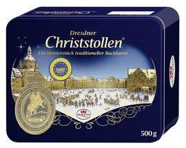 Dr. Quendt - Genuine Dresdner Christstollen - Gift Tin, 500g
