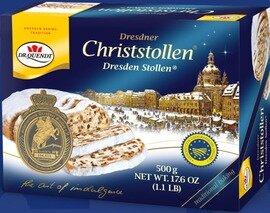 Dr. Quendt - Genuine Dresdner Christstollen (Box), 500g