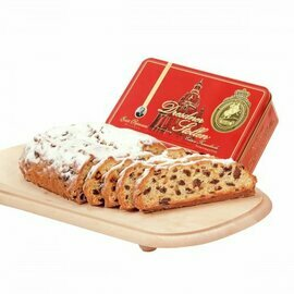 Emil Reimann Dresdner Stollen 'Church of our Lady' in Red Gift Tin - 500g