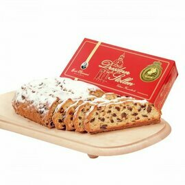 Emil Reimann Dresdner Stollen 'Church of our Lady' in Red Gift Box