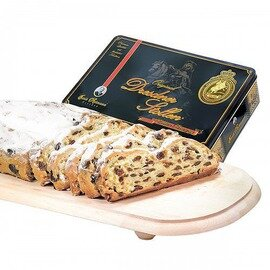 Emil Reimann Dresdner Stollen in Black/Gold Gift Tin - 1,000g / 35.6 oz
