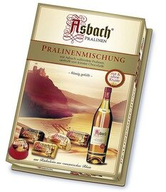 Asbach Assorted Brandy Chocolates Large Gift Box