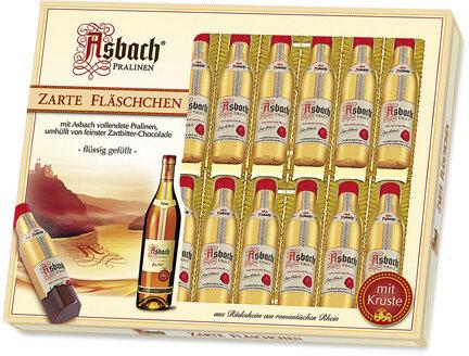 20 Asbach Cognac Bottles in a Windows Display Box