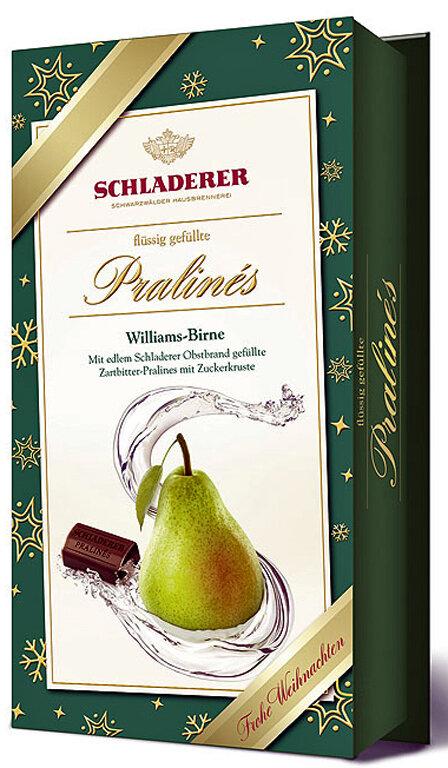 Schladerer Pralines - Williams Pear Brandy - 127g/4.5 oz