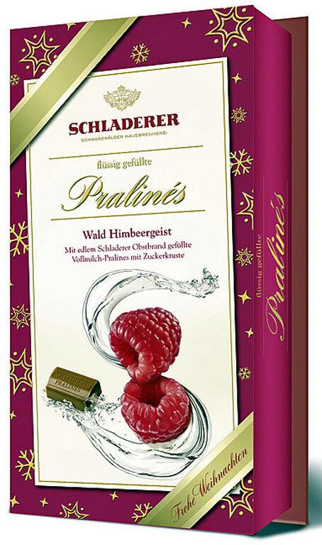 Schladerer Pralines - Raspberry Brandy - 127g/4.5 oz