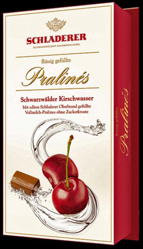 Schladerer Pralines - Cherry (Kirschwasser) Brandy - 148g/5.3 Oz