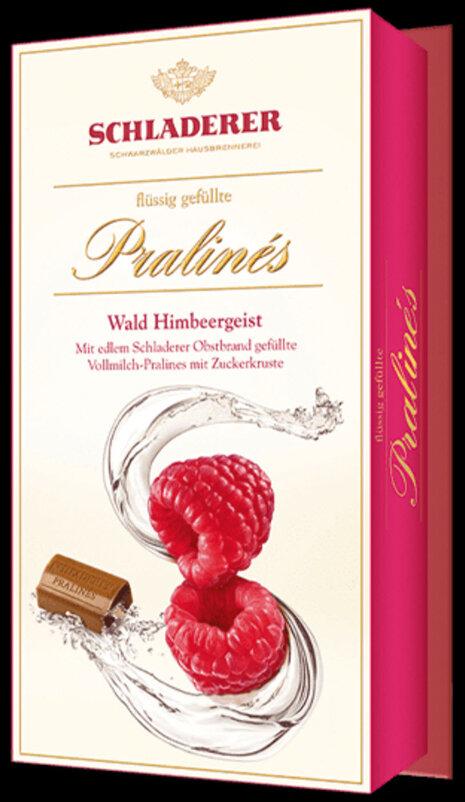 Schladerer Pralines - Raspberry Brandy - 148g/5.3 Oz