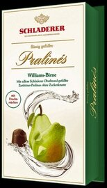 Schladerer Pralines - Williams Pear Brandy - 148g/5.3 oz