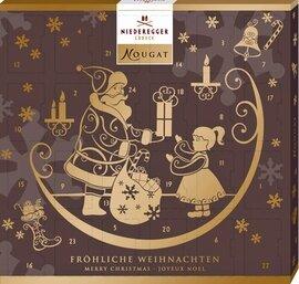Niederegger Marzipan Mini Nougat Advent Calendar 170g/6.0 Oz