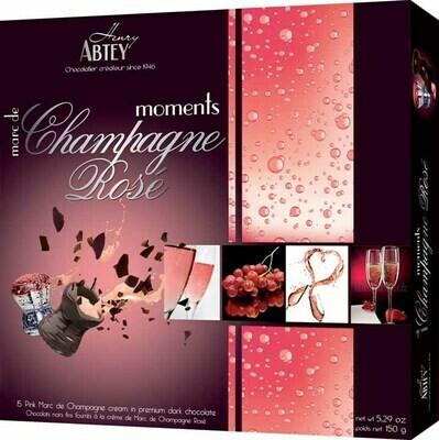 Abtey Boite Champagne Rose Moments Luxury Box - 150g / 5.29 Oz