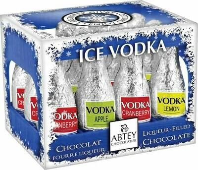 Abtey Iced Vodka 12 Piece Cocktail Chocolates - 110g/3.81 Oz