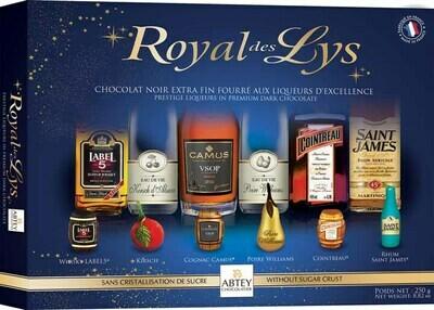 Abtey Royal Des Lys 20 Piece Chocolate Liqueurs - 250g/8.8 Oz