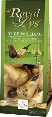 Abtey Royal des Lys Williams Pear Chocolates Sachet - 180g / 6.34 Oz