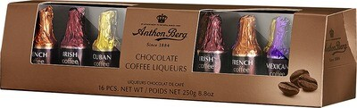 Anthon Berg - Chocolate Coffee Liqueurs - 250g/8.8 Oz