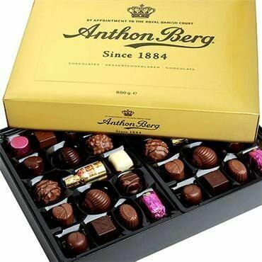 Anthon Berg Luxury Gold Gift Box - 800g/28.0 Oz