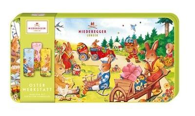 Niederegger Easter Workshop Fancy Gift Tin - 175g/6.3 Oz