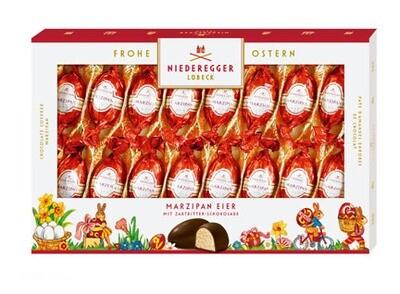 Niederegger Marzipan Easter Eggs - Gift Box - 250 g/8.9 oz