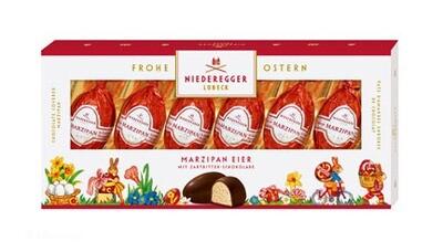 Niederegger Marzipan Easter Eggs in a Gift Box - 100g/3.5oz